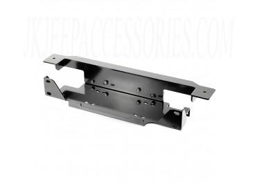 Winch Plate, Stamped Bumper Steel