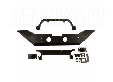 Spartan Front Bumper High Clearance Ends With Overrider 07-18 JK