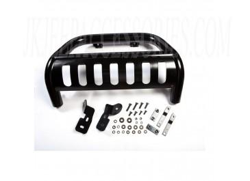 3-Inch Bull Bar Black 10-16 Jeep Wrangler (