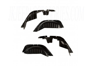 Gen 2 All-Terrain Fender Liner Kit 07-18 Jeep Wrangler JK