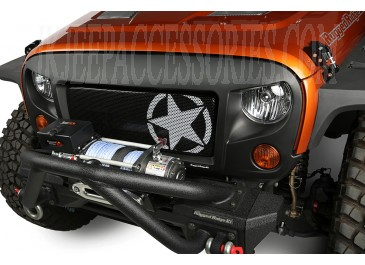 Spartan Grille Kit, Star, 07-15 Jeep Wrangler JK