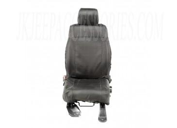 Ballistic Seat Cover Set Front Black  JK