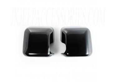 Mirror Covers Black Paintable 07 16 Jeep Wrangler JK