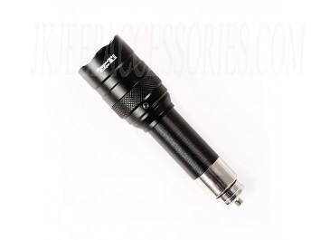 Flashlight Rechargable 700Lux W/RR Crush Bezel
