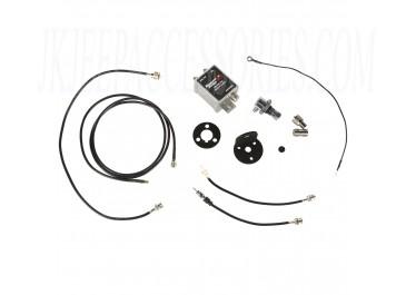 CB/AM/FM Antenna Mount Kit 97-18 Jeep Wrangler
