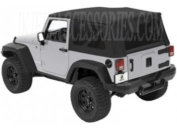 Fits 2007 To 2013 JK Wrangler And Rubicon2 Door ModelsKhaki DiamondFeatures  Tinted Side And Rear Windows (31% Tint)Hardware And Bow Assembly  IncludedLimited ...