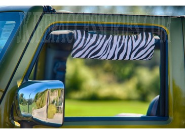 Side Window Sun Visor Zebra