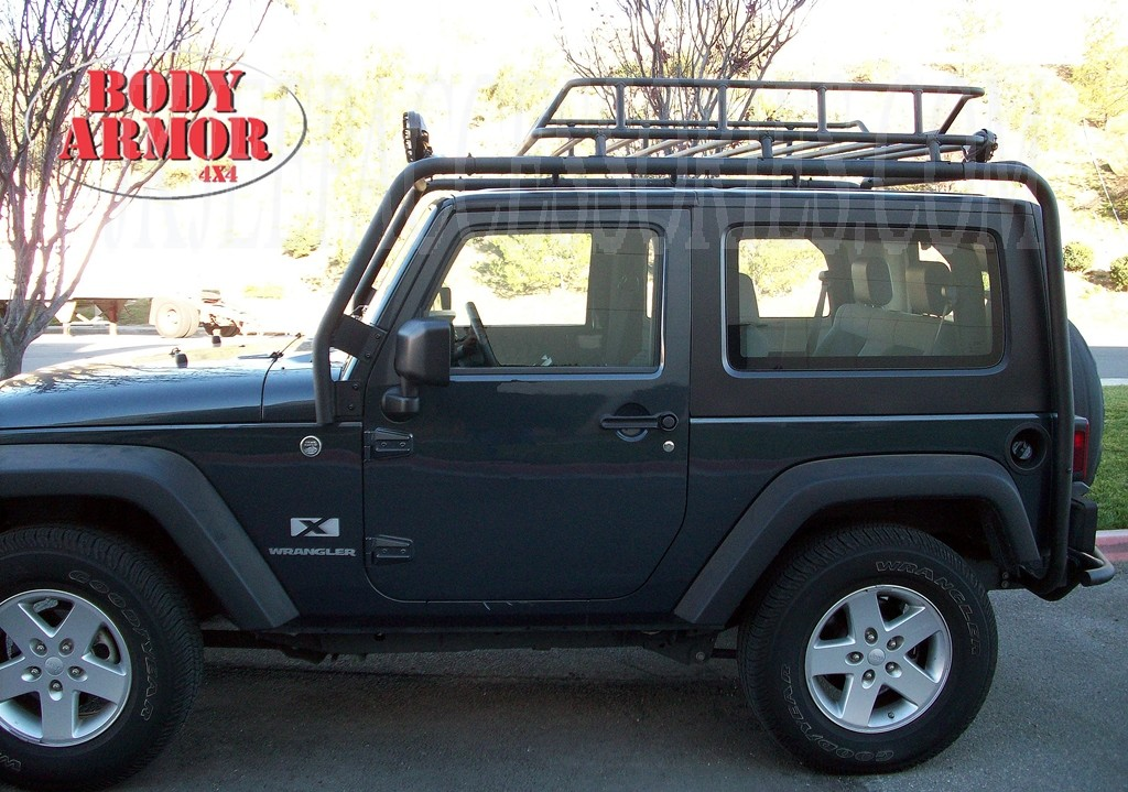 Body Armor Base Roof Rack Bolt On Installation By