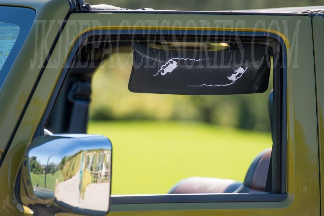 Jeep Side Window Visor Trail Eklps 5202