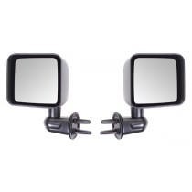 Door Mirror Kit Black 07-17 Jeep Wrangler (JK)