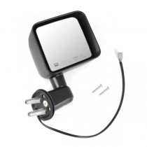 Heated Power Mirror, Right, Black, 11-15 Jeep Wrangler (JK)