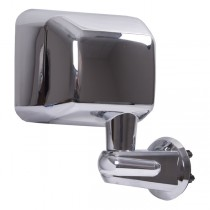 Door Mirror Chrome Right Side 07-17 Jeep Wrangler (JK)