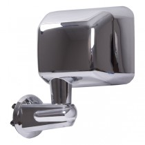 Door Mirror Chrome Left Side 07-17 Jeep Wrangler (JK)