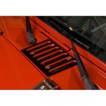 Cowl Vent Cover Black 07-17 Jeep Wrangler (JK)