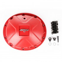 Aluminum Differential Cover Dana 35 Red