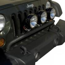 Bumper Mounted Light Bar Textured Black 07-17 Jeep Wrangler (JK)