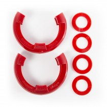 D-Ring Isolator Kit  Red Pair  3/4-Inch