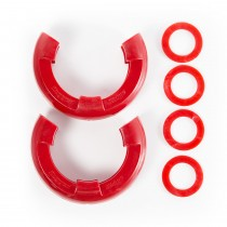 D-Ring Isolator Kit  Red Pair  7/8-Inch