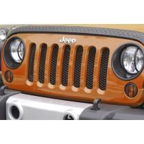 Mesh Grille Insert Black 07-17 Jeep Wrangler (JK)