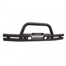 3-Inch Double Tube Front Winch Bumper 07-17 Jeep Wrangler