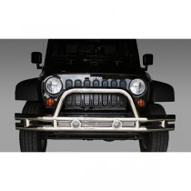 3-Inch Front Tube Bumper Stainless Steel 07-17 Jeep Wrangler (JK)