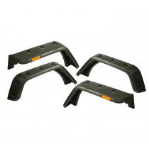 textured black Hurricane Flat Fender Flare Kit