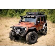 Hurricane Flat Flare Kit 07-17 Jeep Wrangler (JK)