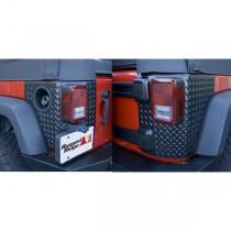 Corner Guards Body Armor 07-17 Jeep 4-Door Wrangler (JK)