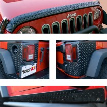 5-Piece Body Armor Guard Kit 07-17 Jeep Wrangler (JK)