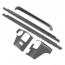 5-Piece Body Armor Kit, Smooth; 07-15 Wrangler Unlimited JK, 4-Door