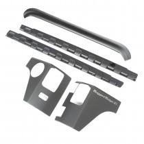 5-Piece Body Armor Kit, Smooth; 07-15 Jeep Wrangler JK, 2-Door