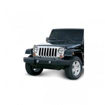 Chrome Grille Overlay 07-17 Jeep Wrangler (JK)