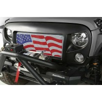 Spartan Angry Grille American Flag Insert