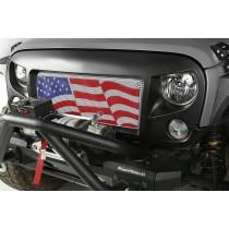 Spartan Grille Kit, American Flag, 07-15 Jeep Wrangler JK