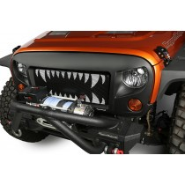 Spartan Grille Kit, Land Shark, 07-15 Jeep Wrangler JK