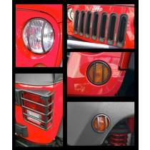 Euro Guard Light Kit 07-17 Jeep Wrangler