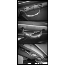 Neoprene Door And Grab Handle Covers 07-17 Jeep Wrangler (JK)