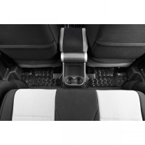 Floor Liners Rear Black 07-17 Jeep Wrangler (JK)