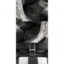 Floor Liners Kit Black 07-17 Jeep Wrangler (JK)