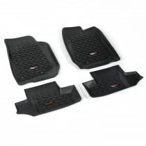 Floor Liner Kit Black 2014 Jeep 2-Door Wrangler 07-17