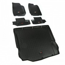 Floor Liner Kit, Black, 11-14 Jeep 2-Door Wrangler