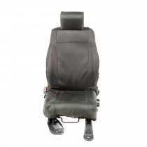 Ballistic Seat Cover Set Front Black 07-10 JK