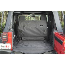C3 Cargo Cover 2-Door without  Subwoofer  07-16 Jeep Wrangler JK