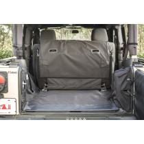 C3 Cargo Cover 2-Door with Subwoofer  07-14 Jeep Wrangler JK