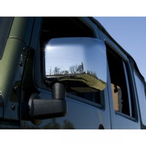 Mirror Covers Chrome 07-17 Jeep Wrangler (JK)