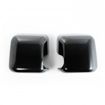 Mirror Covers Black Paintable 07 16 Jeep Wrangler JK