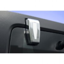 Liftgate Hinge Covers Chrome 07-17 Jeep Wrangler