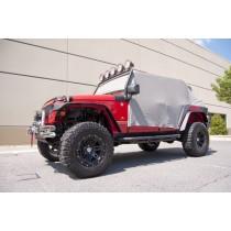 Cab Cover Gray 07-17 Jeep 4-Door Wrangler (JK)