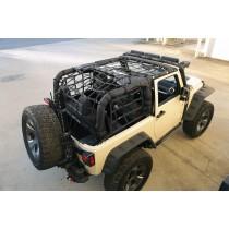 Cargo Net Black 07-17 Jeep 2-Door Wrangler