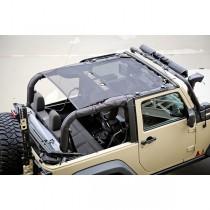 Eclipse Sun Shade Black 2-Door 07-17 Jeep Wrangler (JK)